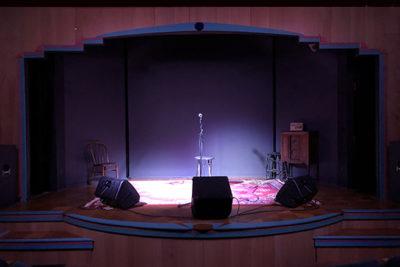 Big River Theatre stage, Alma WI
