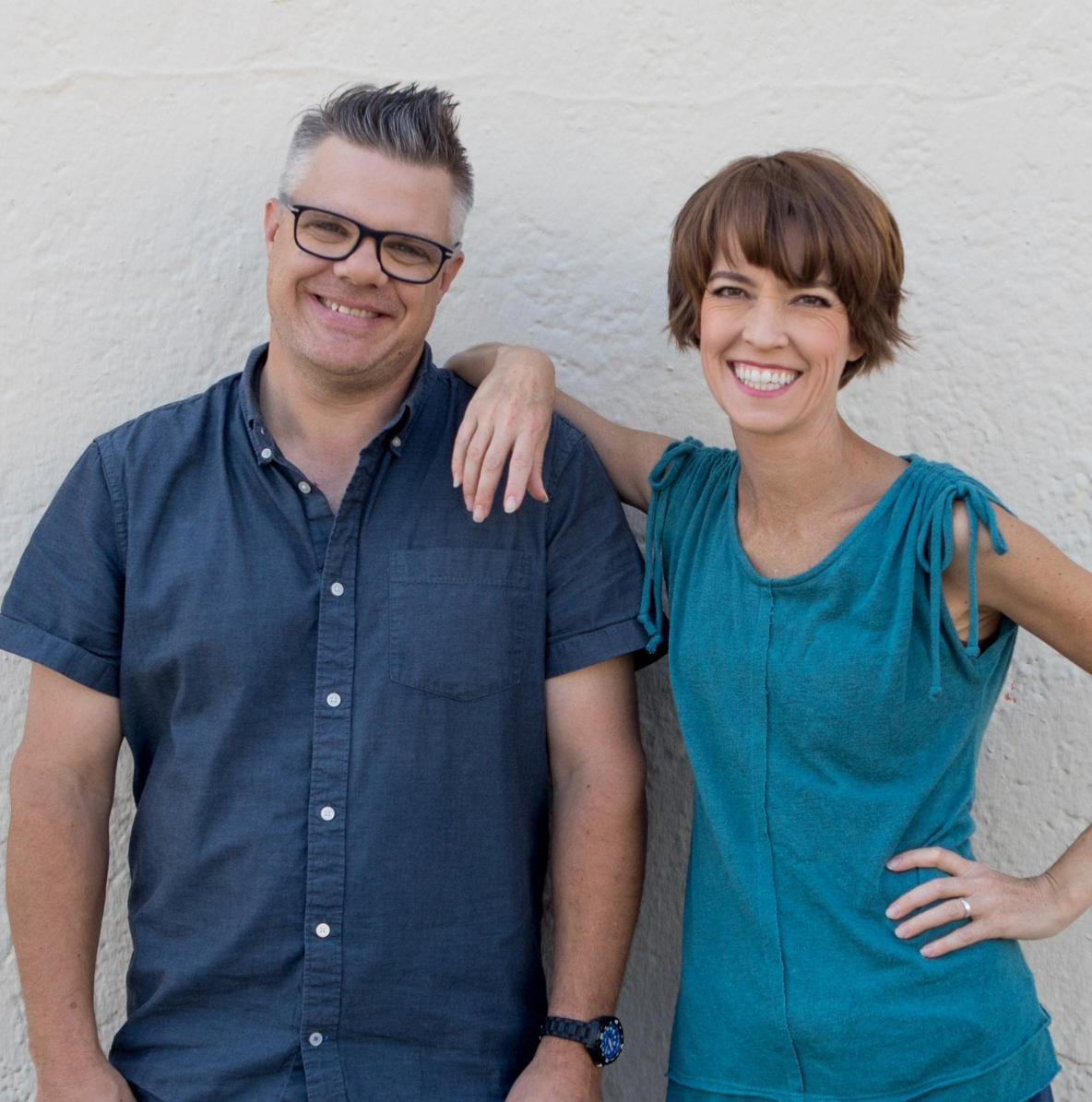 Mary Mack and Tim Harmston kick off their 2019 Happy Camper Comedy Tour in Alma, WI.
