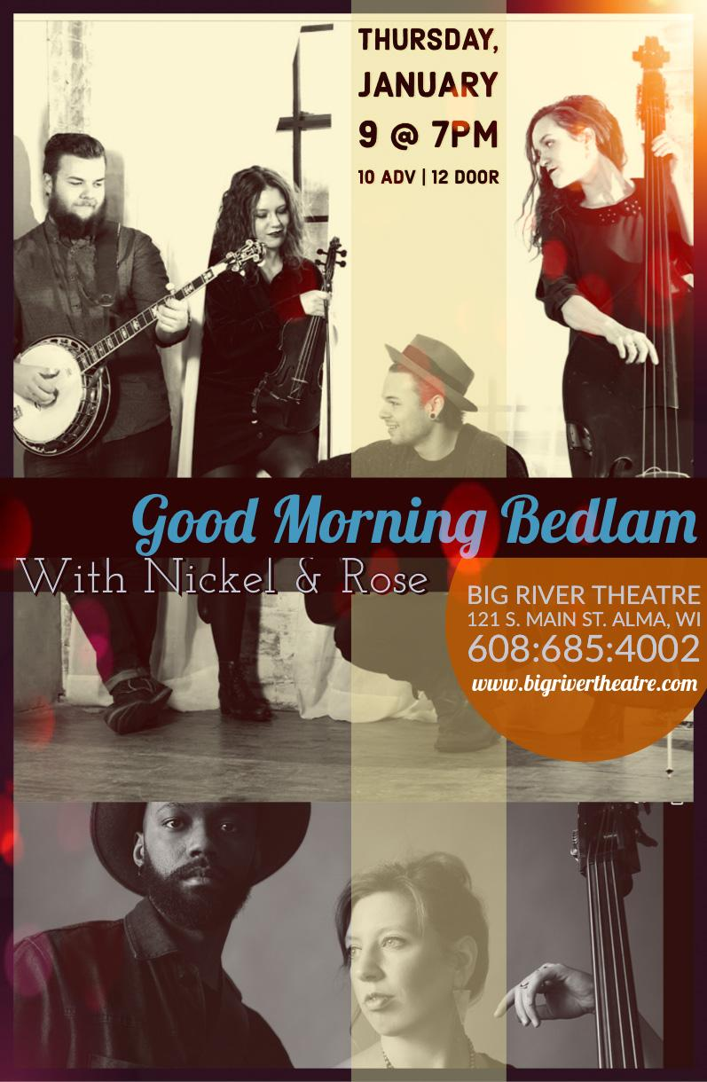 Bedlam Thursday Jan 9 2020