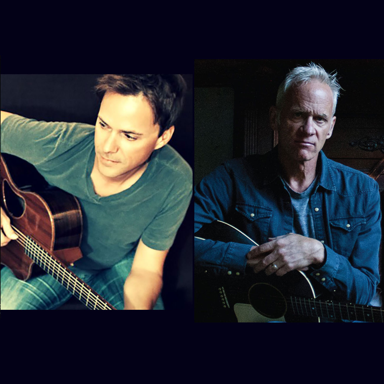 Bryan White and Jeff Arundel March 27 Big River Theatre Alma WI